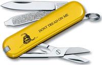 Victorinox Classic SD Knife, Gadsden Flag, VN-53076