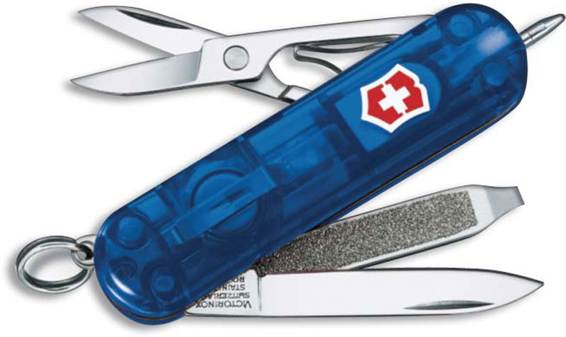 Victorinox Knives Victorinox Signature Lite, Sapphire, VN-53188