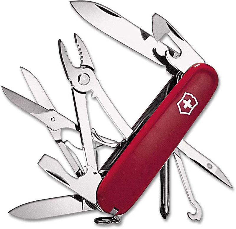 Victorinox Deluxe Tinker, Red, VN-53481