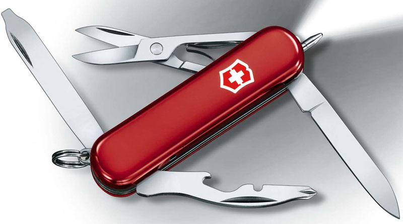 Victorinox Midnight Manager, Red, VN-53751
