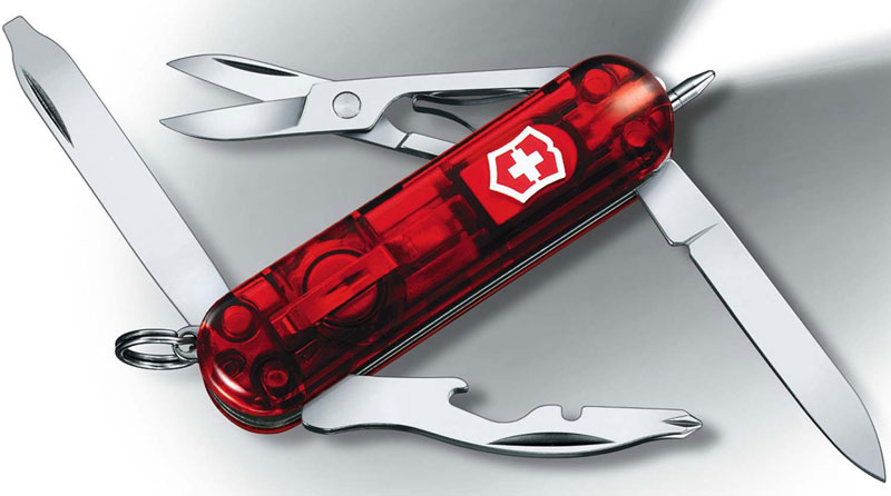 Victorinox Midnight Manager, Ruby, VN-53756