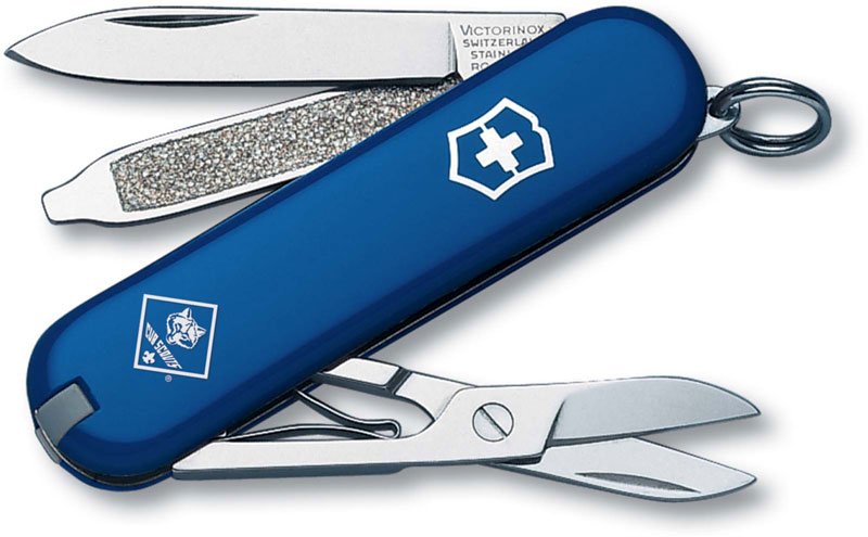 Victorinox Classic SD Knife, Cub Scout, VN-54402