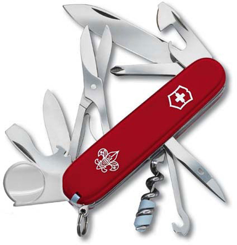 Victorinox Explorer Knife Boy Scouts Of America Vn 54781