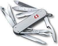 Victorinox MiniChamp Knife, Silver Alox, VN-638126US2