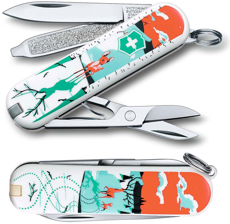 Victorinox Classic Sd Limited They Ll Grow Deer Vn L1507us2