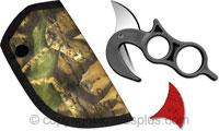 Wyoming Knife Wyoming Knife with Camo Sheath, WK-10004