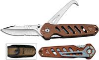 Buck Crosslock Hoofpick, Brown, BU-183BRS