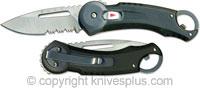 Buck Knives Buck Redpoint Knife, Black, BU-750BKX