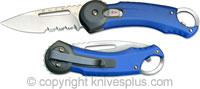 Buck Knives Buck Redpoint Knife, Blue, BU-750BLX