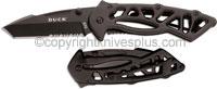 Buck Knives Buck Bones Knife, Black, BU-870BKX
