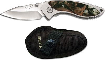Buck Alpha Dorado Knife Mossy Oak Infinity Camo Bu 270cms22