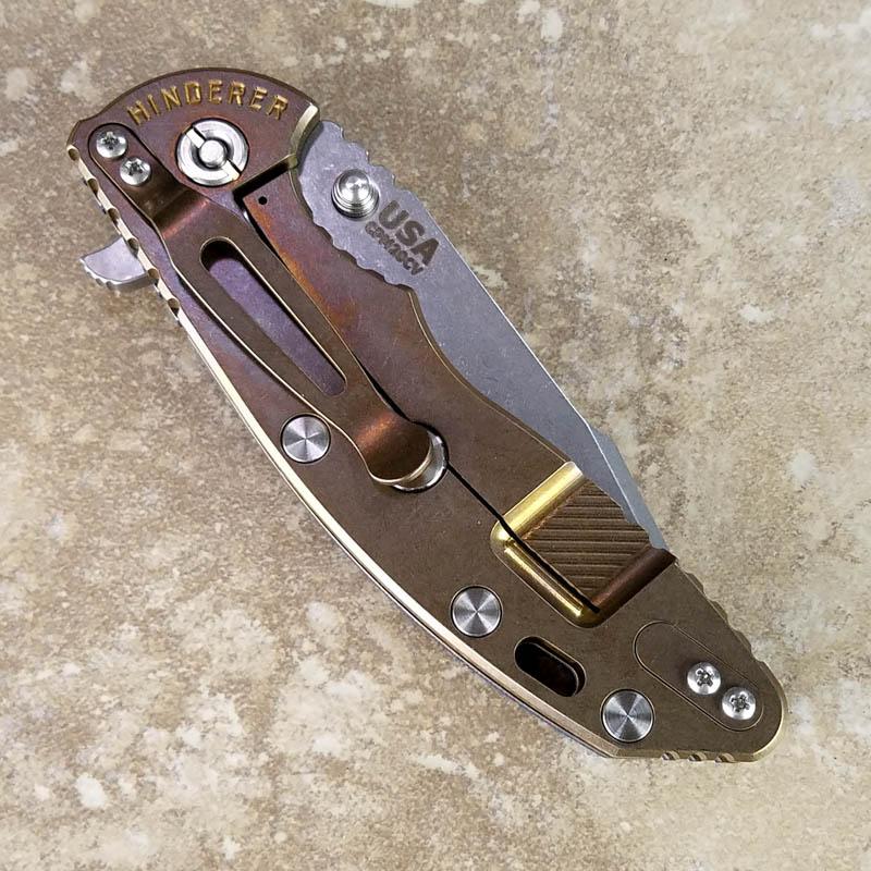Rick Hinderer Xm 18 Knife 3 5 Inch Stonewash Harpoon
