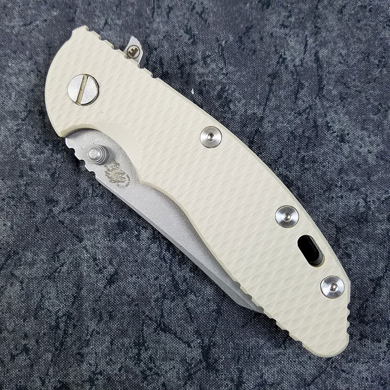Rick Hinderer Xm 18 Fatty Knife 3 5 Inch Wharncliffe Sand
