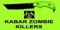 KABAR Zombie Killer knives