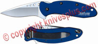 Kershaw Scallion, Navy Blue Aluminum, KE-1620NB