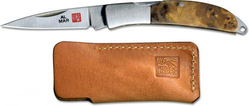 Al Mar Osprey Classic Knife 1001BR - Limited Edition - Briarwood - DISCONTINUED ITEM - OLD NEW STOCK - SERIAL NUMBERED - MADE IN JAPAN