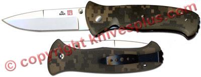 Al Mar SERE 2000 Knife, Digi Camo, AL-S2KDC