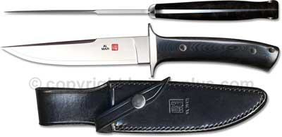 Al Mar Knives: Al Mar Shiva Knife, Micarta Handle, AL-SVBM
