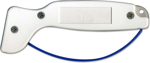 AccuSharp Sharpener: AccuSharp Knife and Tool Sharpener, White, AS-1