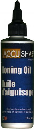 AccuSharp Honing Oil 026C 4 Ounce Bottle For Natural Sharpening Stones USA Made