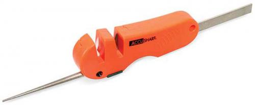 AccuSharp 4 in 1 Knife and Tool Sharpener, Orange, AS-28