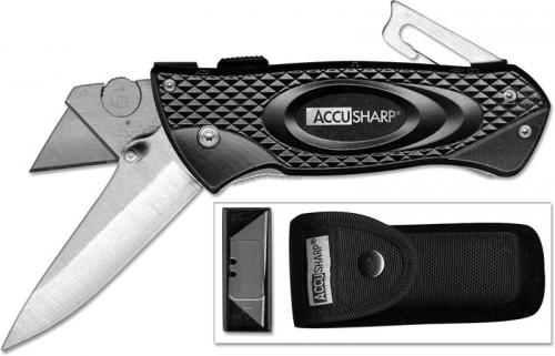 AccuSharp Turboslide Dual Blade, Black, AS-706C