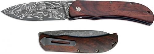 Boker Exskelibur I Knife, Damascus Cocobolo, BK-01BO222DAM