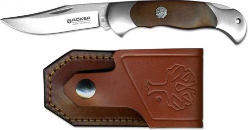 Boker Lock Blade Hunter, Thuya Wood, BK-2002TH