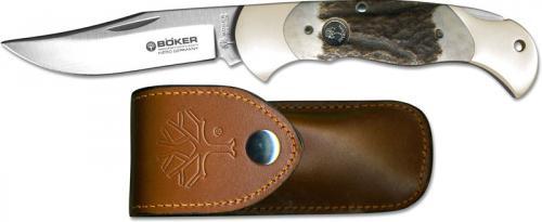 Boker Lock Blade Hunter, Stag, BK-2004ST