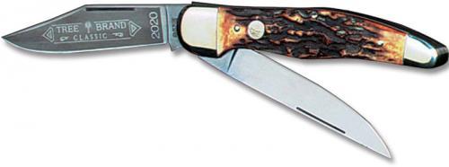 Boker Knives: Boker Folding Hunter, Stag, BK-2020HH