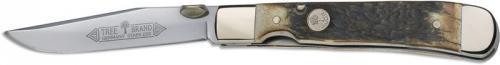Boker Knives: Boker Trapperliner Knife, Stag, BK-4715