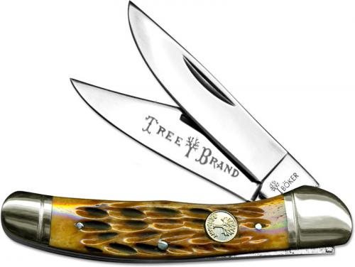 Boker Copperhead, Jigged Brown Bone, BK-723
