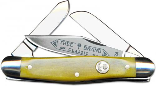 Boker Stockman Knife, Smooth Yellow Bone, BK-7474Y