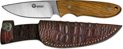 Boker Knives: Boker Pine Creek Knife, Ebony Wood, BK-BA701G