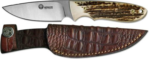 Boker Knives: Boker Pine Creek Knife, Stag, BK-BA701H