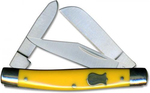 Boker Knives: Boker Mini Stockman Knife, Yellow, BK-BO234Y