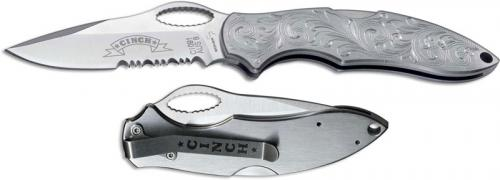 Boker Cinch Roper Knife, Western Scroll, BK-01CI091E