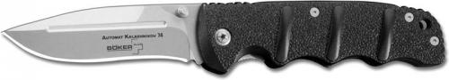 Boker Knives: Boker AK 74 Knife, Black Handle, BK-KAL74