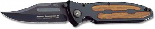 Boker Knives: Boker Kalashnikov Knife, Black, BK-KALB