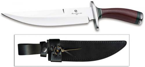 Boker Magnum Collection 2019 Knife 02MAG2019 - Limited Edition - Gary Groves - High Polish 440C Blade - Green and Burgundy Micarta Handle