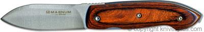 Boker Knives: Boker Magnum Satin Leaf Knife, BK-MB006