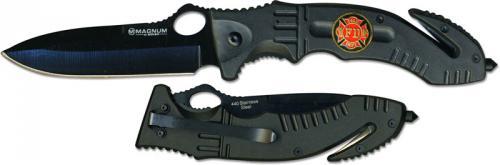 Boker Knives: Boker Magnum Midnight Rescue Knife, BK-RY414