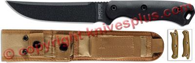 Short Becker Knife, Trailing Point, BKT-15