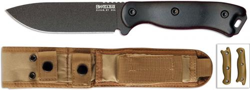 Short Becker Knife, Drop Point, BKT-16