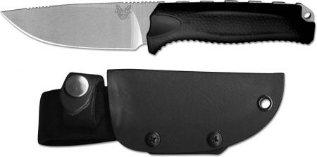 Benchmade Steep Country Knife, Black, BM-15008BLK