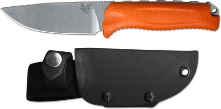 Benchmade Steep Country Knife, Orange, BM-15008ORG