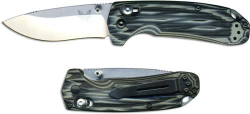 Benchmade North Fork Knife, G10, BM-150311