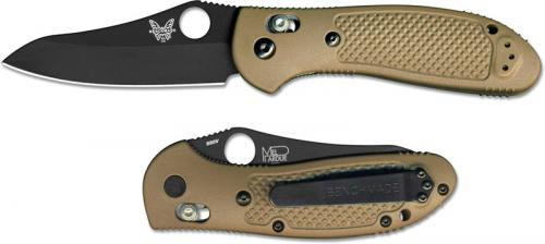 Benchmade 550BKSN Griptilian S30V EDC Black Sheepfoot Sand GFN AXIS Lock Folder USA Made