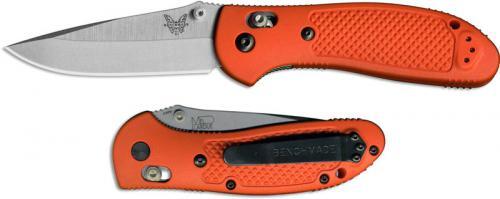 Benchmade 551-ORG Griptilian S30V EDC Satin Drop Point Orange GFN AXIS Lock Folder USA Made