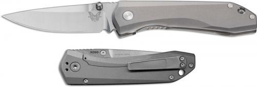 Benchmade 765 Mini Ti Monolock EDC Folding Knife M390 Drop Point with Titanium Handle USA Made